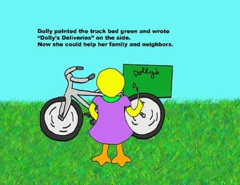Audio Picture Book PowerPoint DOLLY JUST WANTS TO HELP (Helping others)