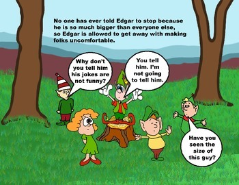 Audio Picture Book PowerPoint EDGAR ELEPHANT TELLS JOKES (Jokes gone bad)