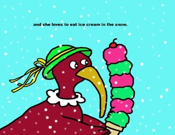 Audio Picture Book PowerPoint IRIS IBIS LOVES ICE CREAM (Sharing and caring)