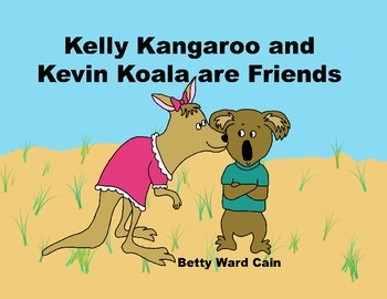 Audio Picture Book PowerPoint KELLY KANGAROO KISSES (Friendship and caring)