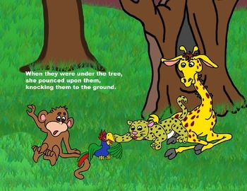 Audio Picture Book PowerPoint LORRIE LEOPARD LOVES LIGHT BUGS (Annoying others)