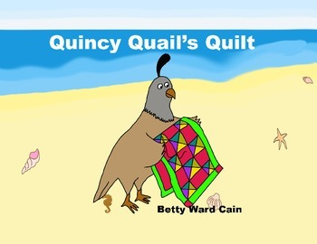 Audio Picture Book PowerPoint QUINCY QUAIL'S QUILT (Crafting fun)
