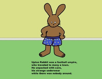 Audio Picture Book PowerPoint UPTON'S UNUSUAL UNDERWEAR (Fun with counting)