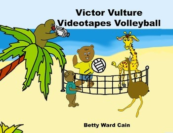 Audio Picture Book PowerPoint VICTOR VULTURE VIDEOTAPES VOLLEYBALL (Making fun)