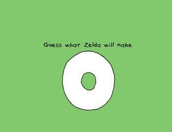Audio Picture Book PowerPoint ZELDA ZEBRA'S ZIGZAGGING NUMBER BOOK