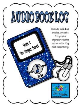 Audiobook Log and Freebie Reader Response Organizer