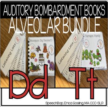 Auditory Awareness Books - Alveolar Bundle {T & D}