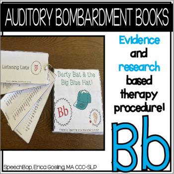 Auditory Awareness Books- B!