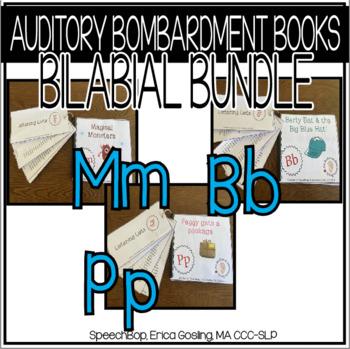 Auditory Awareness Books- Bilabial Bundle {B, P, M}