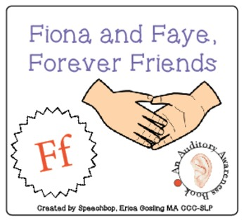 Auditory Awareness Books- F!