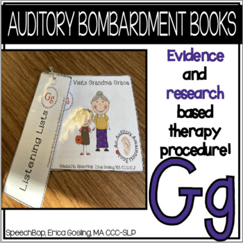 Auditory Awareness Books - G!