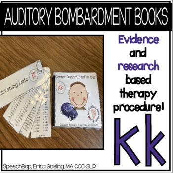 Auditory Awareness Books - K!