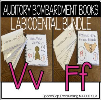 Auditory Awareness Books- Labiodental Bundle {F & V}