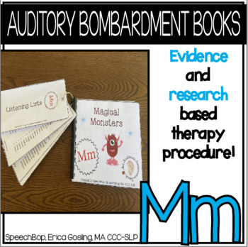 Auditory Awareness Books- M!