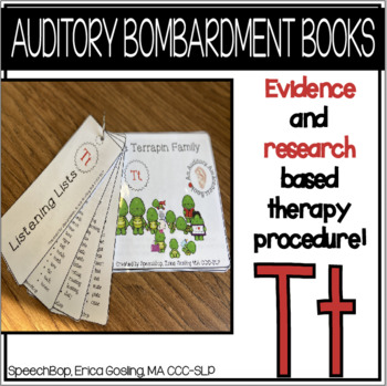 Auditory Awareness Books - T!