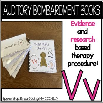 Auditory Awareness Books- V!