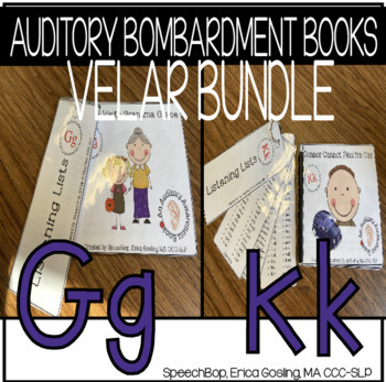 Auditory Bombardment Books - Velar Bundle {K & G}