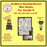 Auditory Bombardment Mini Books for Vocalic R