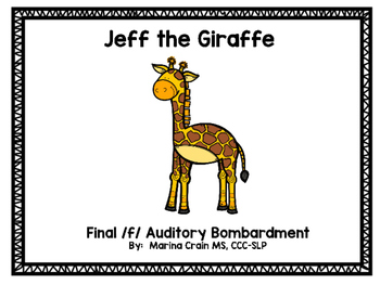 Auditory Bombardment Story - Final /f/