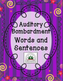 Auditory Bombardment Words and Sentences