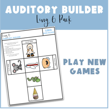 Auditory Builder Pack: Ling 6 Sounds