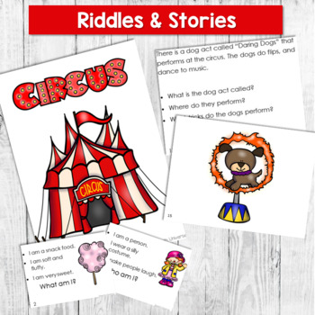 Auditory Circus: Auditory Memory Activities for Sentences, Riddles, and Stories