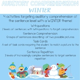 Auditory Comprehension: Winter Edition