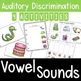 Auditory Training: Vowel Sounds Matching