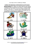Auditory Discrimination Activity: R and W-Rhyming Word Pairs