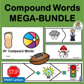 Compound Words MEGA BUNDLE!