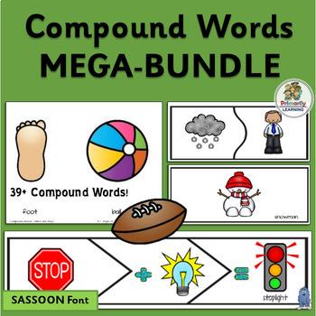 Compound Words MEGA BUNDLE!  (SASSOON)