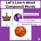 Auditory Discrimination ~ Compound Words:  Teaching Tool