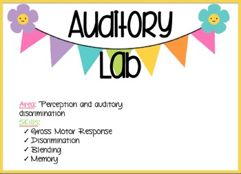 Auditory Discrimination Lab