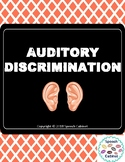 Auditory Discrimination Packet (Initial/Medial/Final Sounds)