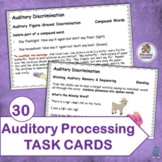 Auditory Processing Task Cards