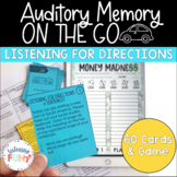 Auditory Memory: Listening to Directions