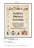Auditory Memory Manual