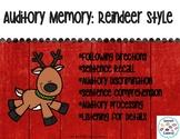 Auditory Memory: Reindeer Style