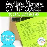Auditory Memory: Social Listening