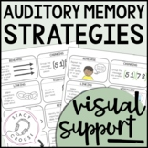 visual versus auditory memory These results imply that auditory and visual short-term memory employ similar mechanisms previous studies have examined how auditory and visual items are encoded into memory, implicating some structures in both visual and auditory working memory [ 42 , 43 .