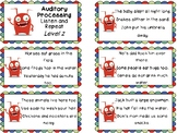 Auditory Processing Cards - Listen and Repeat - Level 2
