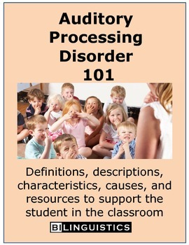 Auditory Processing Disorder 101