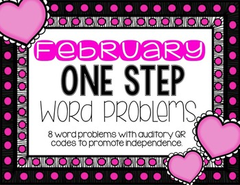 Auditory QR codes: February Word Problems