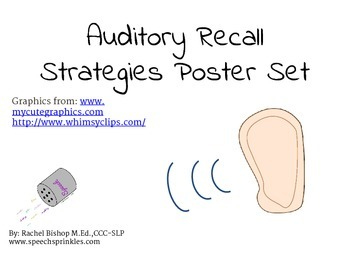 Auditory Recall Visuals
