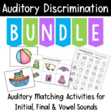 Auditory Training: BUNDLE Sound Matching