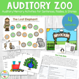 Auditory Zoo: Auditory Memory Activities for Sentences, Riddles, and Stories