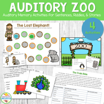 Auditory Zoo: Auditory Memory Activities for Sentences, Ri