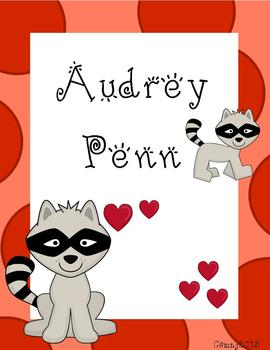 Audrey Penn Author Study