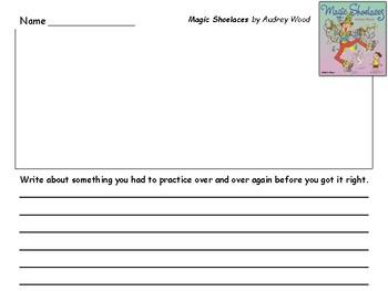 Audrey Wood Author Study 5 Written Responses