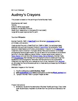 Audrey's Crayons